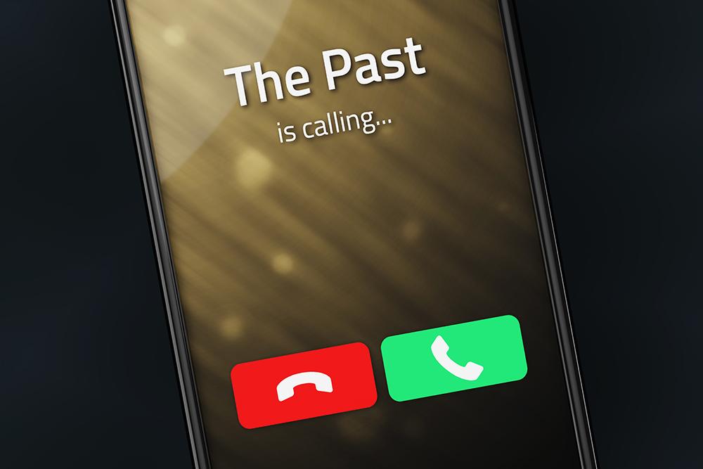 Telefonanrufen gehören zur Vergangenheit