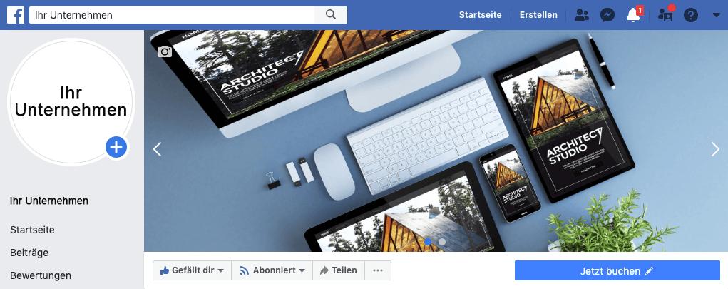 Online-Terminbuchung über Facebook