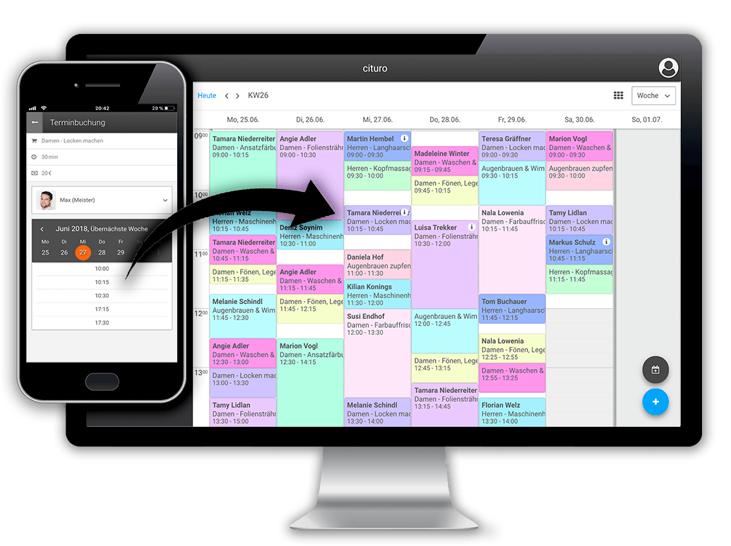 Online Terminkalender zur einfachen und effizienten Terminverwaltung