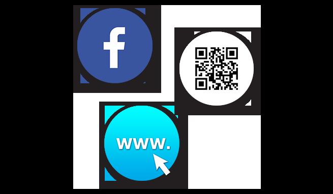Online-Kursbuchungen über Ihre Webseite, Facebook und QR-Code