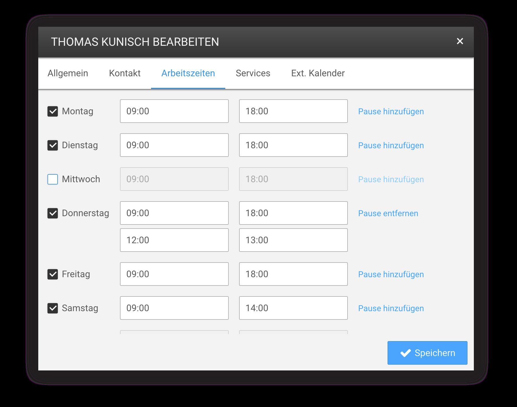 Die digitale Schichtplanung erlaubt eine flexbile Gestaltung der Arbeitszeiten Ihres Teams