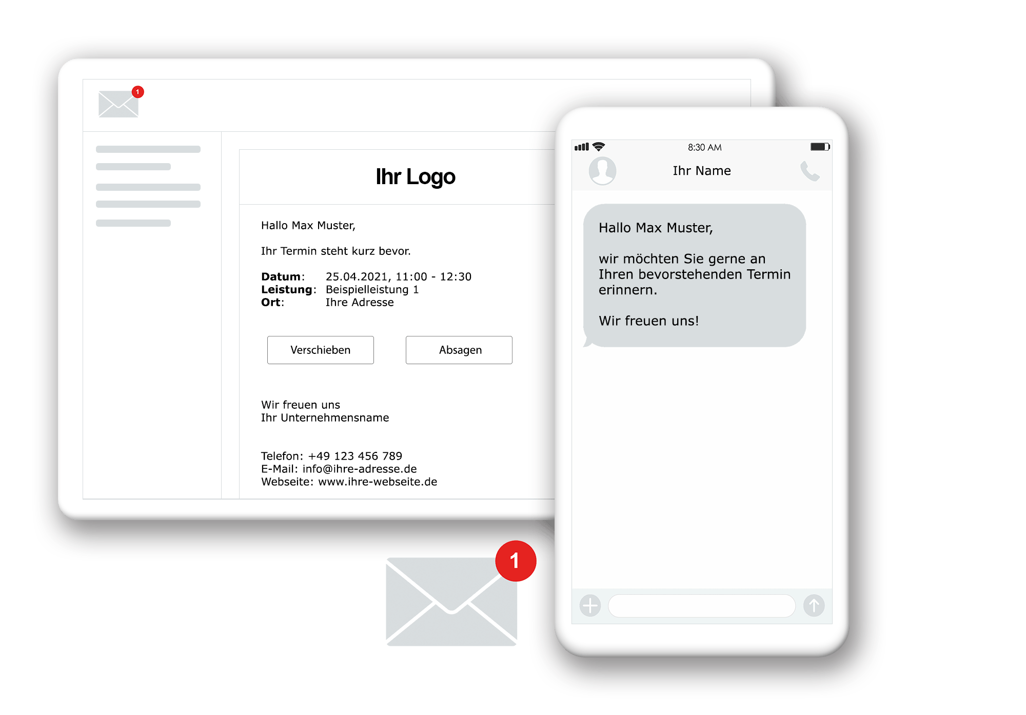 Automatische Terminerinnerung per SMS